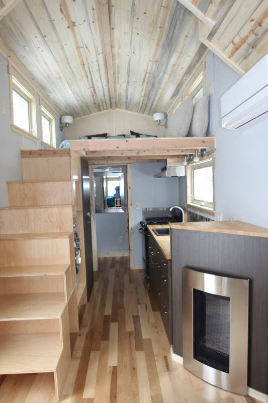 Astounding Simblissity Blue Sapphire Tiny Home For Sale Tiny House Blog Largest Home Design Picture Inspirations Pitcheantrous