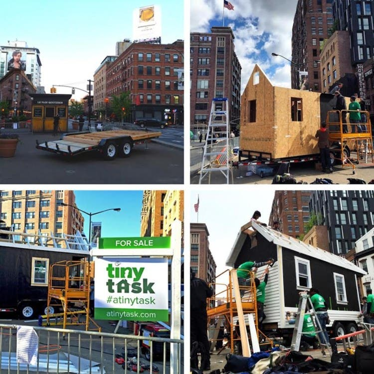 TaskRabbit's Tiny House