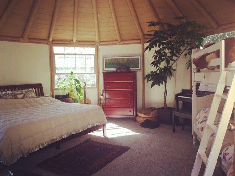 Freedom Yurt Cabin interior