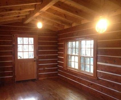 Charle S Arkansas Log Cabin Tiny House Blog