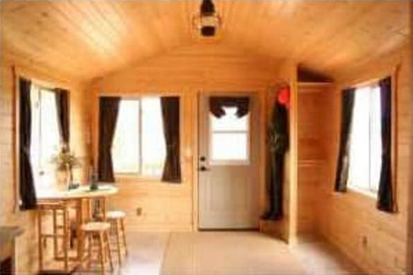tiny houses for sale in illinois. A Complete Kitchen Decked Out With Hickory Cabinets And Stainless Steel Sinks, Plenty Of Storage Space, This Could Be The Ideal Tiny House On Wheels Houses For Sale In Illinois