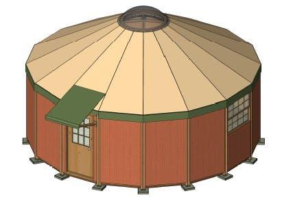 fabric yurt