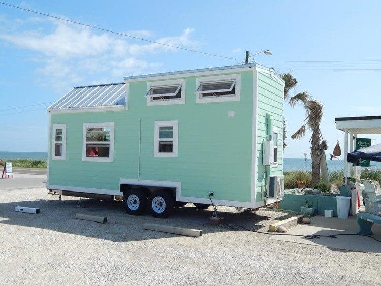 The Tiny Beach Cottage On Wheels