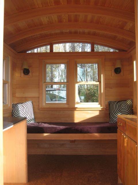 Dee Williams new Don Vardo tiny house interior