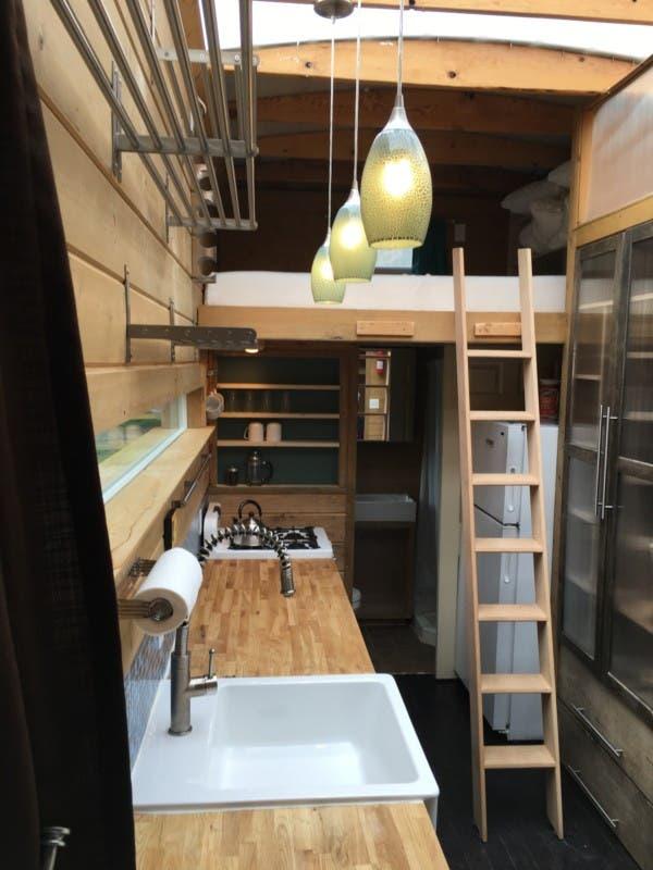 Kitchen & Loft Bed