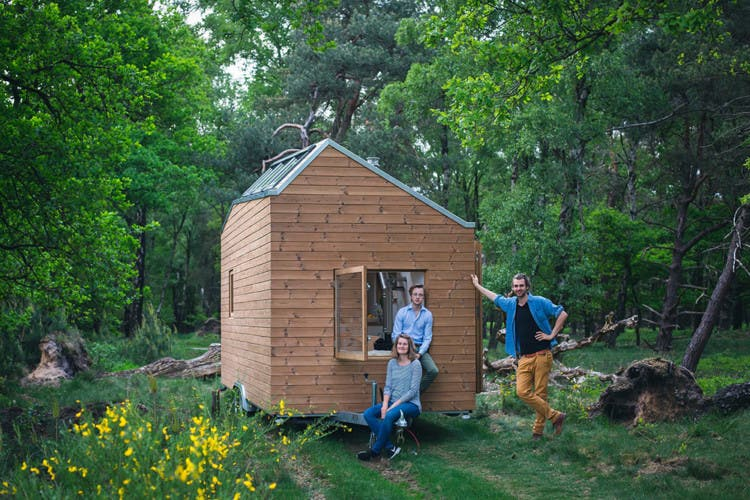 Self sufficient cottage in the netherlands tiny house blog for Tiny house movement nederland