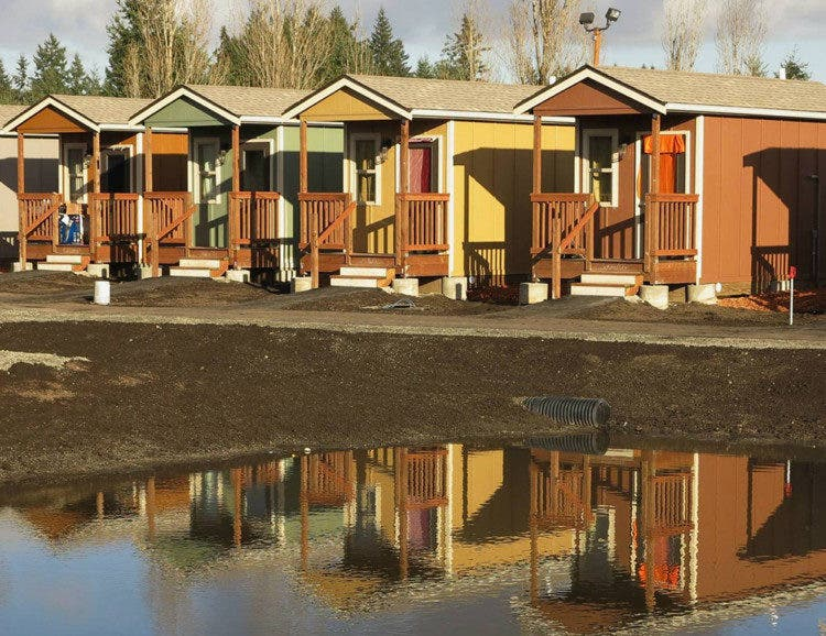 Building a tiny house community ana d productions wants for Building a house blog