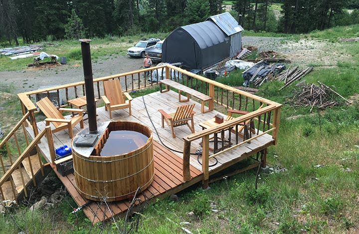 the perfect tiny house accessory a diy wood fired hot tub tiny house blog. Black Bedroom Furniture Sets. Home Design Ideas