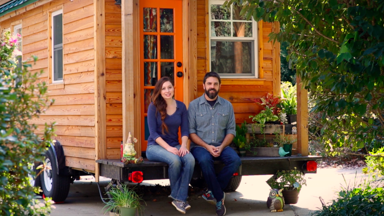 Alexis and Christian of Tiny House Expedition