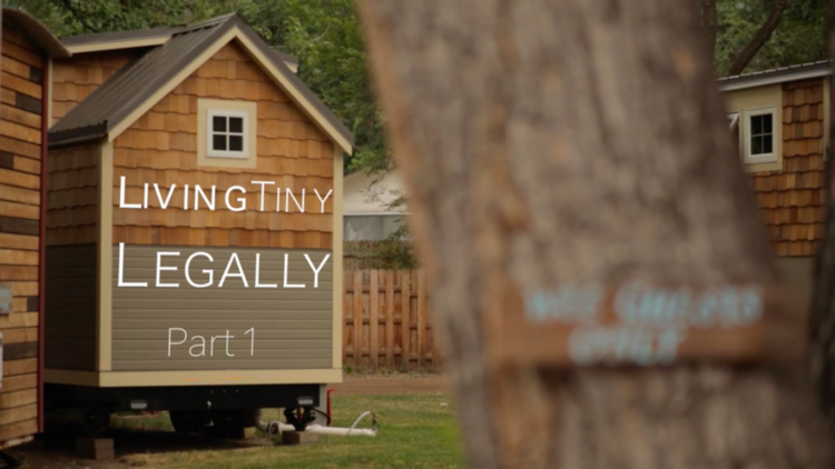 Living Tiny Legally, An Educational Documentary Series. Living Tiny Legally  ...