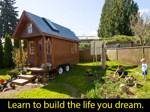 Fall Tiny House Workshop with Dee Williams from PAD Tiny Houses