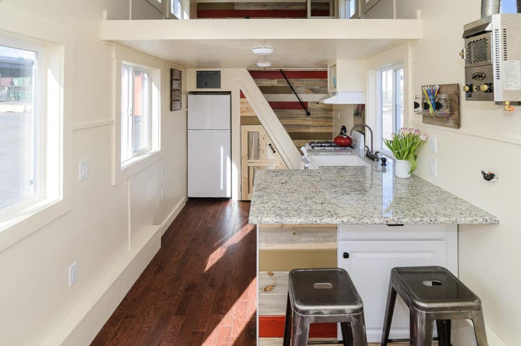 Ingenious Staircase By Tiny Houses By Darla Tiny House Blog