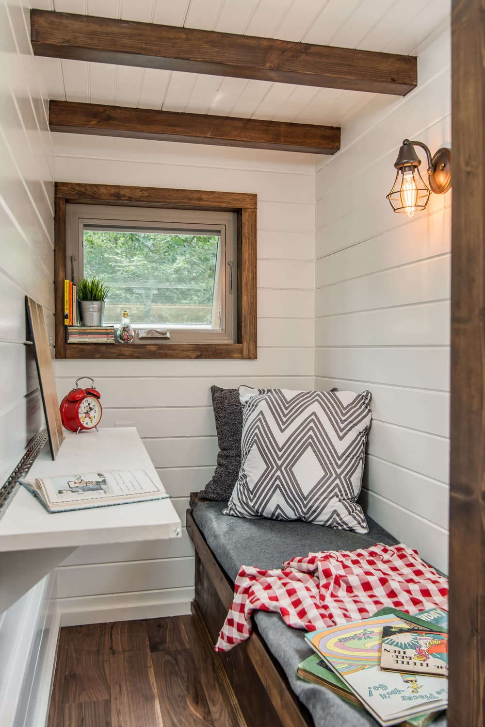 tiny bedroom nook. Tiny Bedroom Nook. The House Features A Cozy Nook That Can Be Used For  Sleeping .