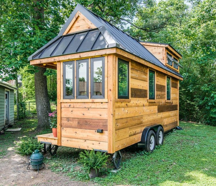 Cedar mountain tiny house affordable option from new for The new small house