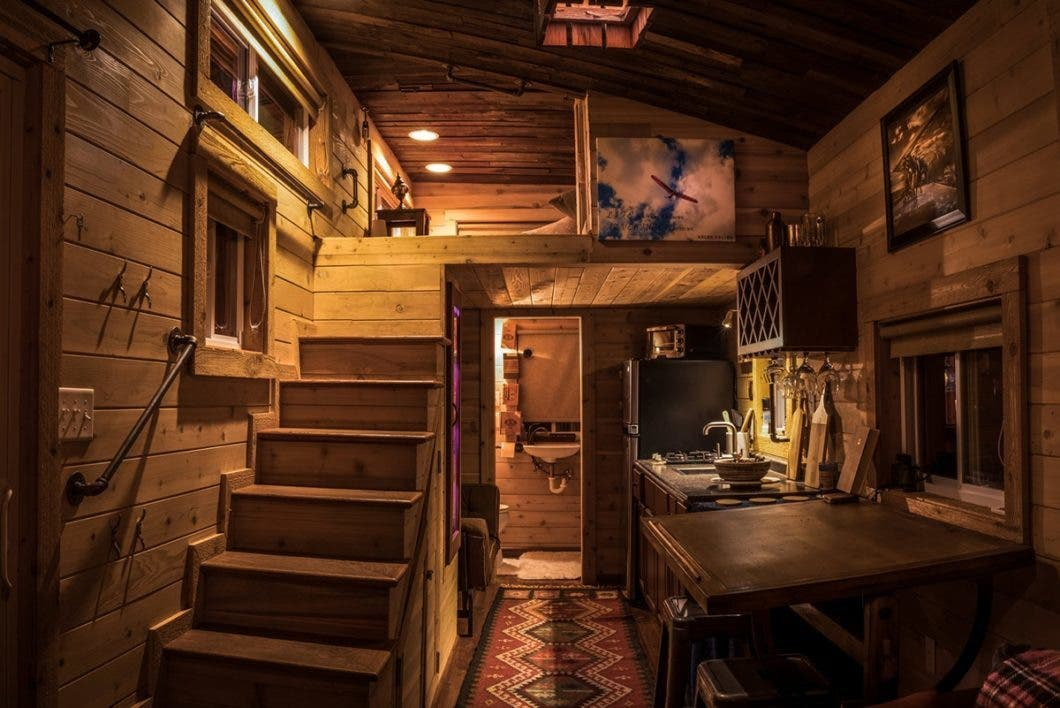 Fine Book A Stay In Chattanoogas Live A Little Tiny Houses Tiny Largest Home Design Picture Inspirations Pitcheantrous