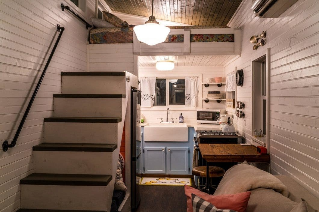 Outstanding Book A Stay In Chattanoogas Live A Little Tiny Houses Tiny Largest Home Design Picture Inspirations Pitcheantrous