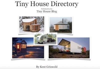 Join Our EMail List And Download The Tiny House Directory
