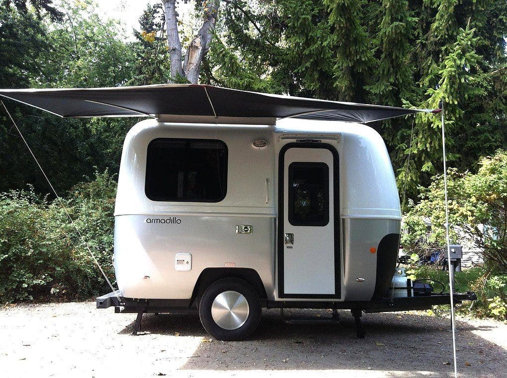 Armadillo Trailer: 13-Foot Stylish Camping Option - Tiny House Blog