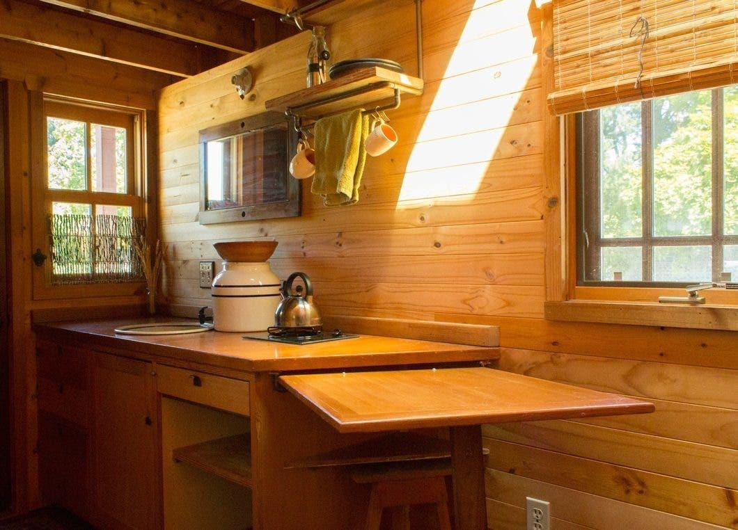 The Back To Basics Kozy Kabin Tiny House Plans Dee