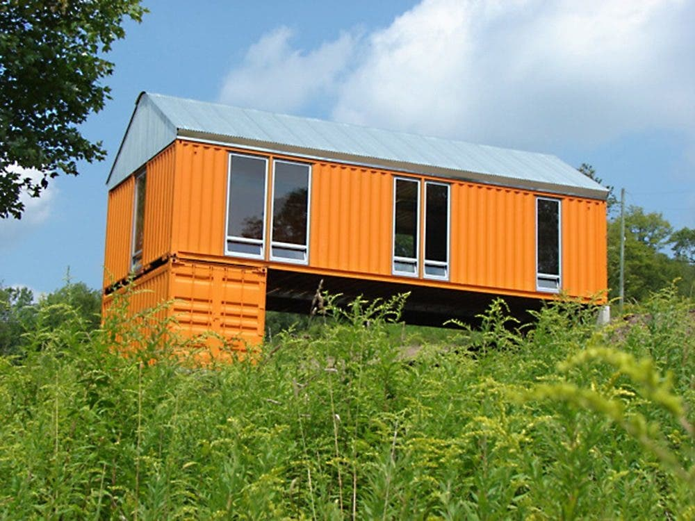 Five tiny houses that could withstand hurricanes tiny for Shipping container homes plans