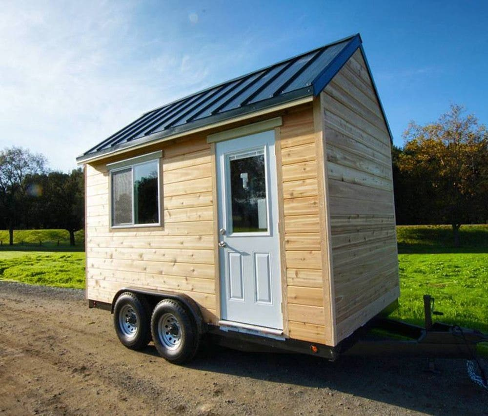 Intimidated by building try a tiny house shell from tiny for Building a little house