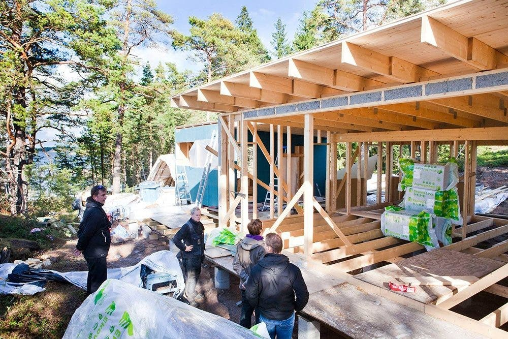 Sunhouse Modern Prefab Includes Finnish Sauna - Tiny House Blog