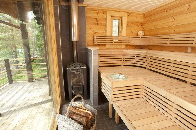 Sunhouse Modern Prefab Includes Finnish Sauna Tiny House
