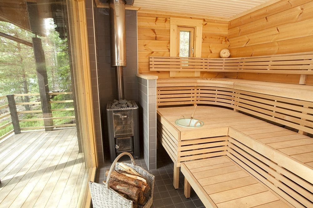 sunhouse modern prefab includes finnish sauna tiny house blog. Black Bedroom Furniture Sets. Home Design Ideas