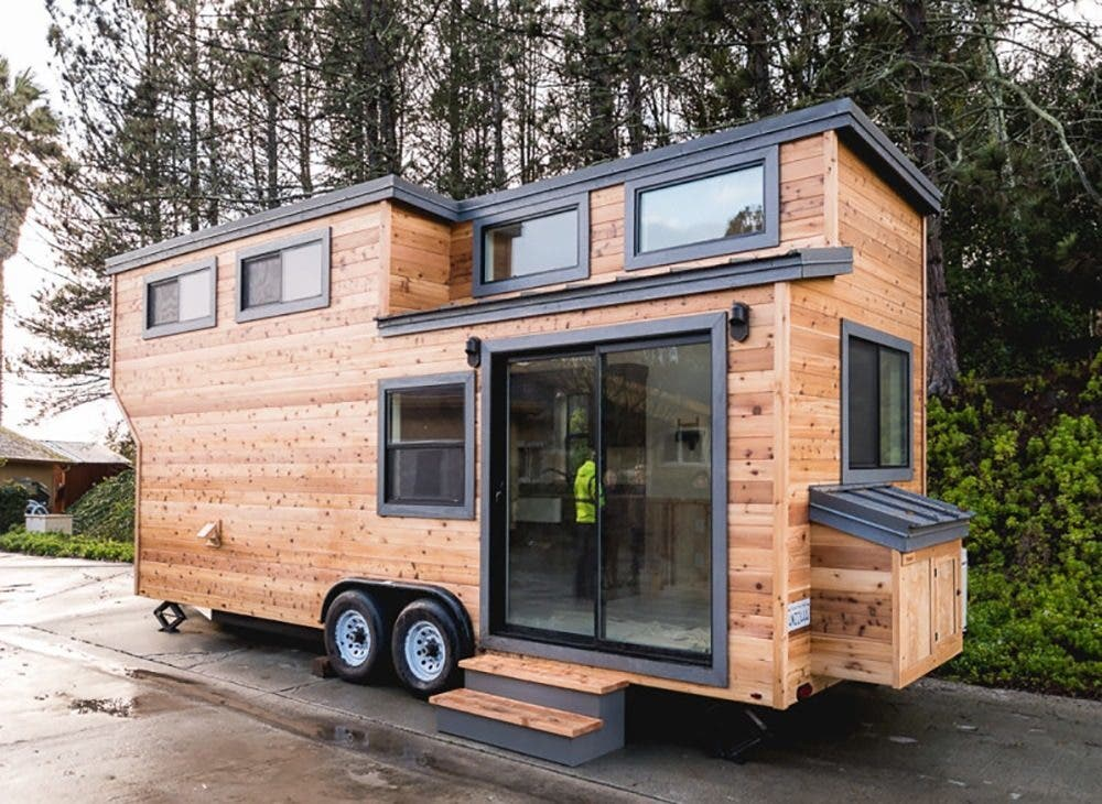 Code friendly fresno s california tiny house company for How to build a house in california