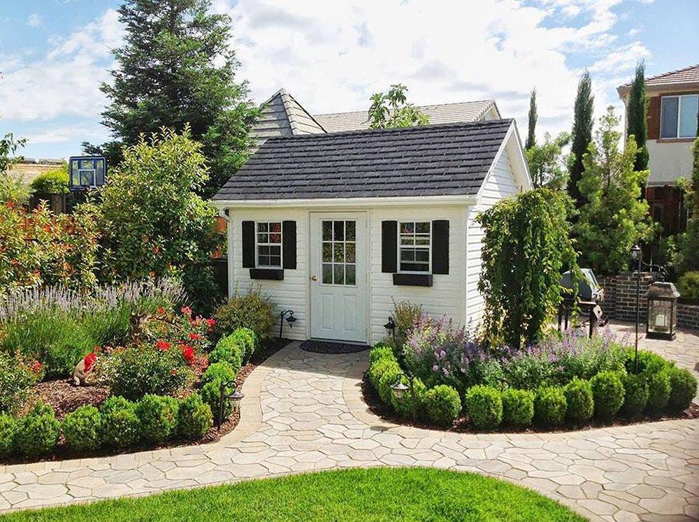 Backyard Unlimited Offers Tiny, Adaptable Amish-Built ... on Backyard House Ideas id=39150