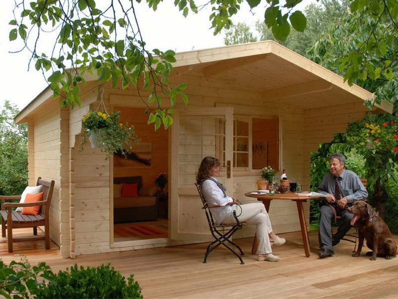 BZB Cabins Manufactured In Europe And Available In The US - Backyard cabin kits