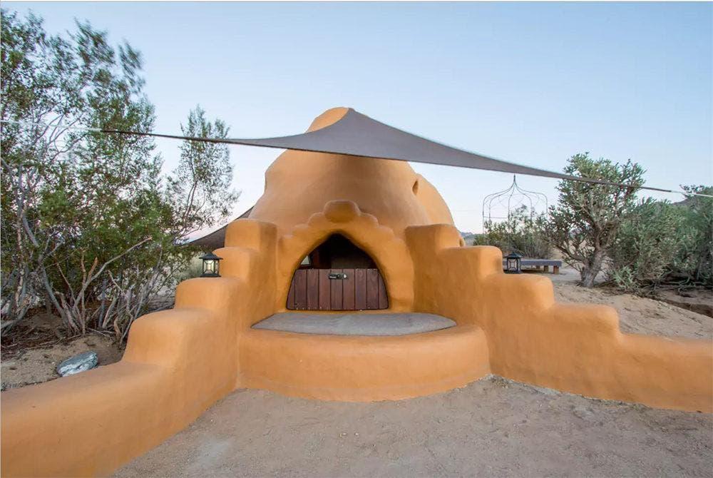 Bonita Domes Sleep In A Joshua Tree Earth Bag Pod Tiny