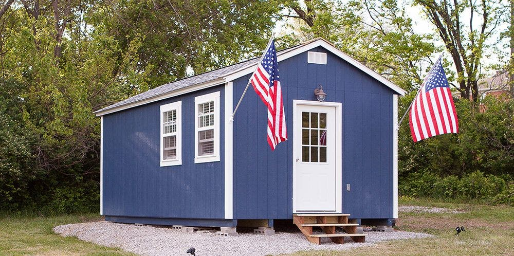 Tiny house for veterans are a part of a much larger plan for How much for a small house