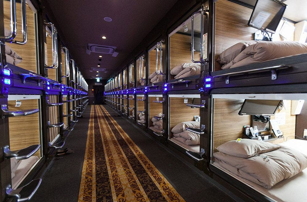 Tiny House Lessons From A Tokyo Capsule Hotel Tiny House