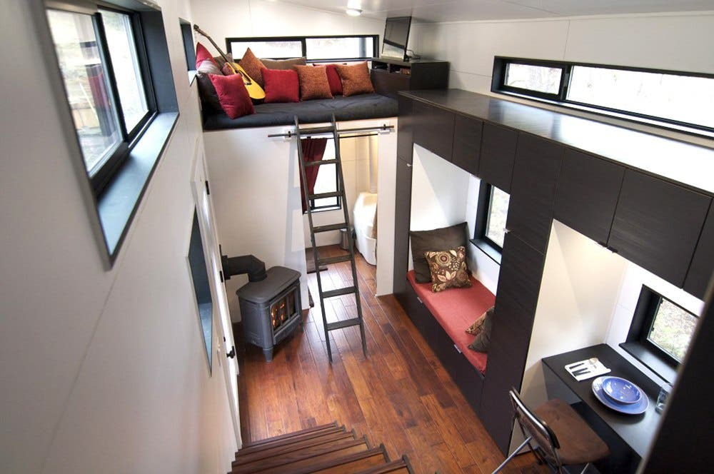HOMe Tiny House For Families That Have A Little Room And Land To Spread Out The Design Plans Works Well All Members