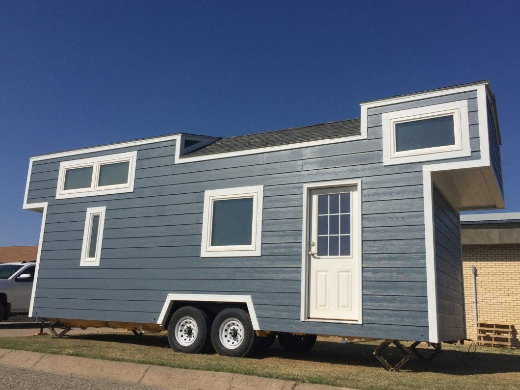 Tiny Home Designs: A Tiny High School Builds A Remarkable Tiny House