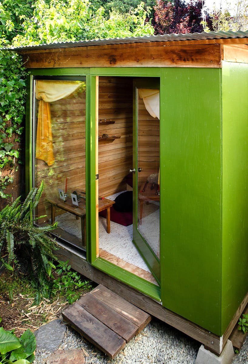 moksha osgood u0027s san francisco backyard cabana tiny house blog