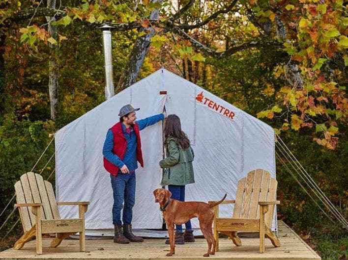 Stay in a Luxury Bunk Tent with Tentrr & Stay in a Luxury Bunk Tent with Tentrr - Tiny House Blog