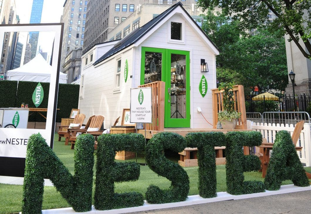 Nestea S Tiny Quot Less Is More Quot House Tiny House Blog