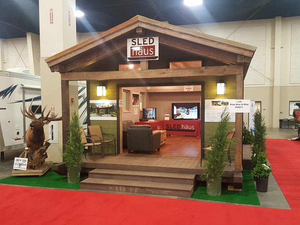 Tiny Home Designs: SLEDhaus: Modular Luxury In 572 Square Feet
