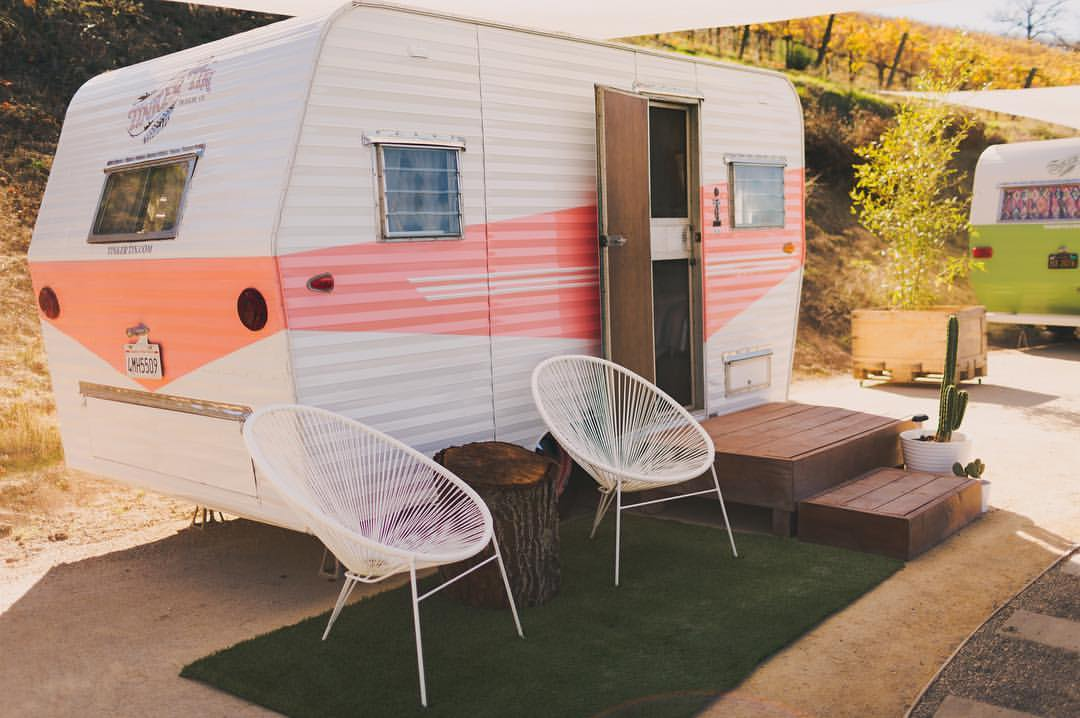 Rent Glamping Trailers Tipis And Tents From Tinker Tin Co Tiny