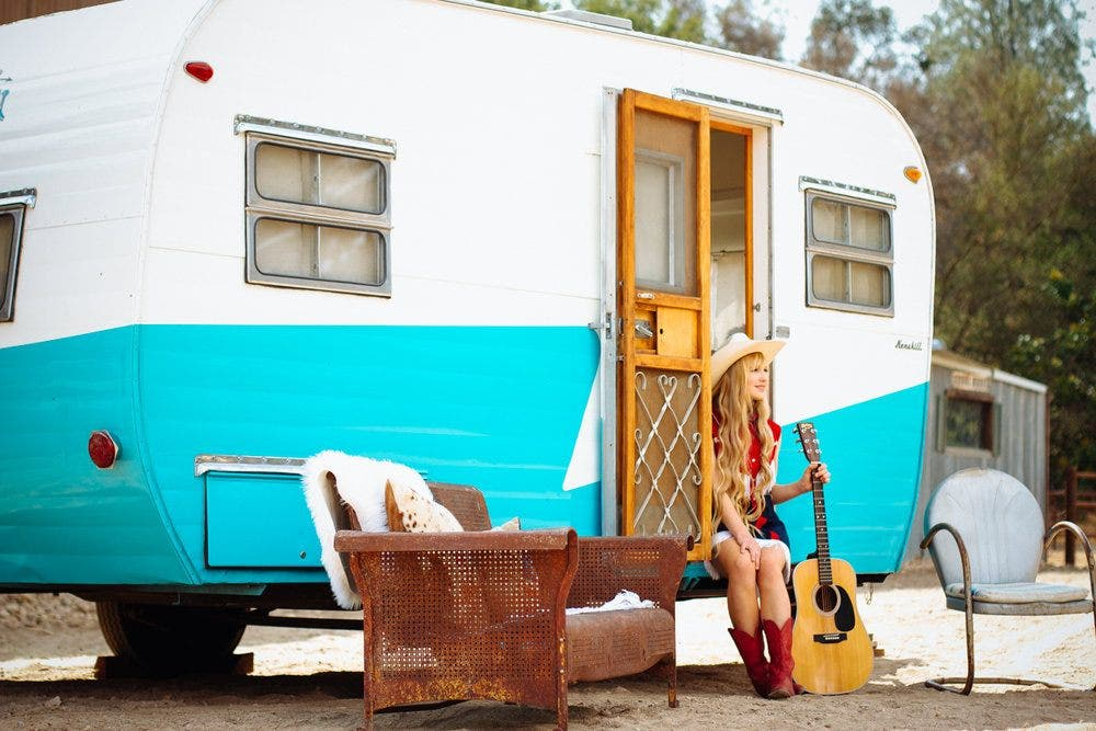 Rent Glamping Trailers Tipis And Tents From Tinker Tin Co