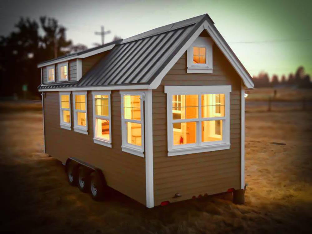 Truform Tiny Combines Tiny House Aesthetics With Rv