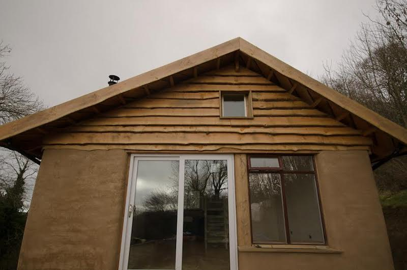 Captivating A Straw Bale Tiny House (430 Sq Ft) In Wales.