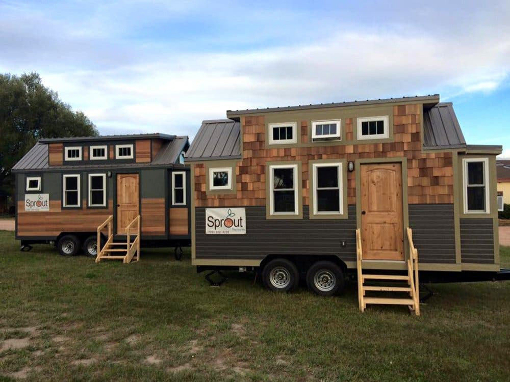 Harvard Designed Tiny Homes: SIP-Built Sprout Tiny Homes And Communities