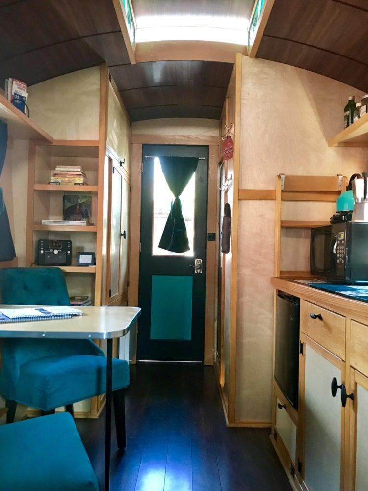 The Ever Evolving Caravan The First Tiny House Hotel