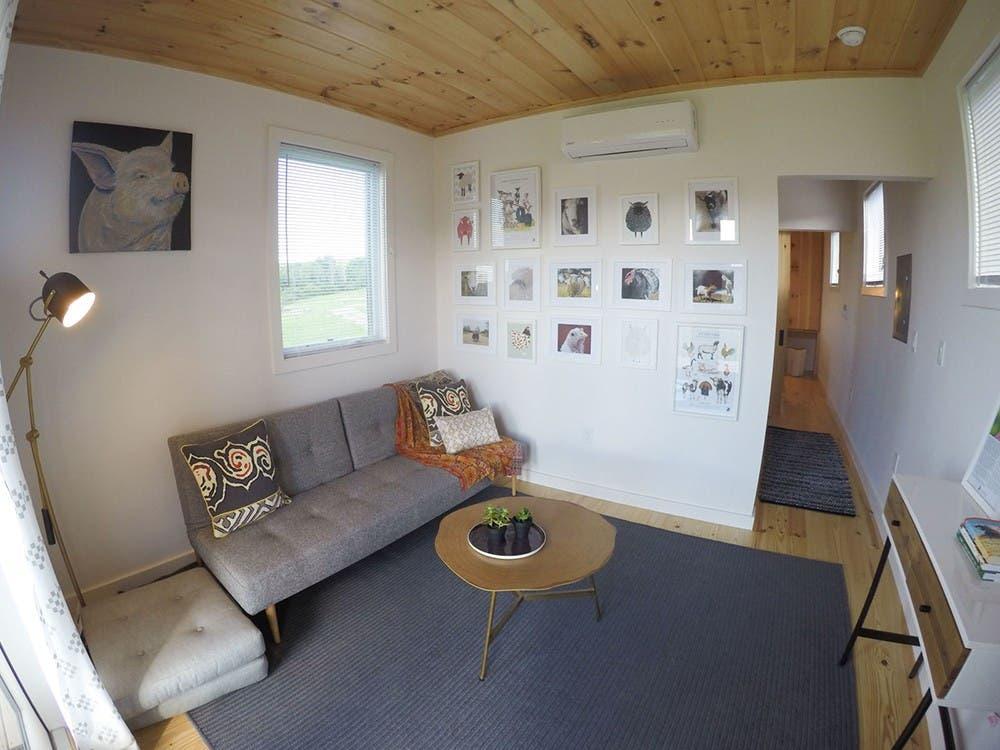 Tiny Home Designs: Tiny, Contemporary Cabins Available At NY's Farm Sanctuary