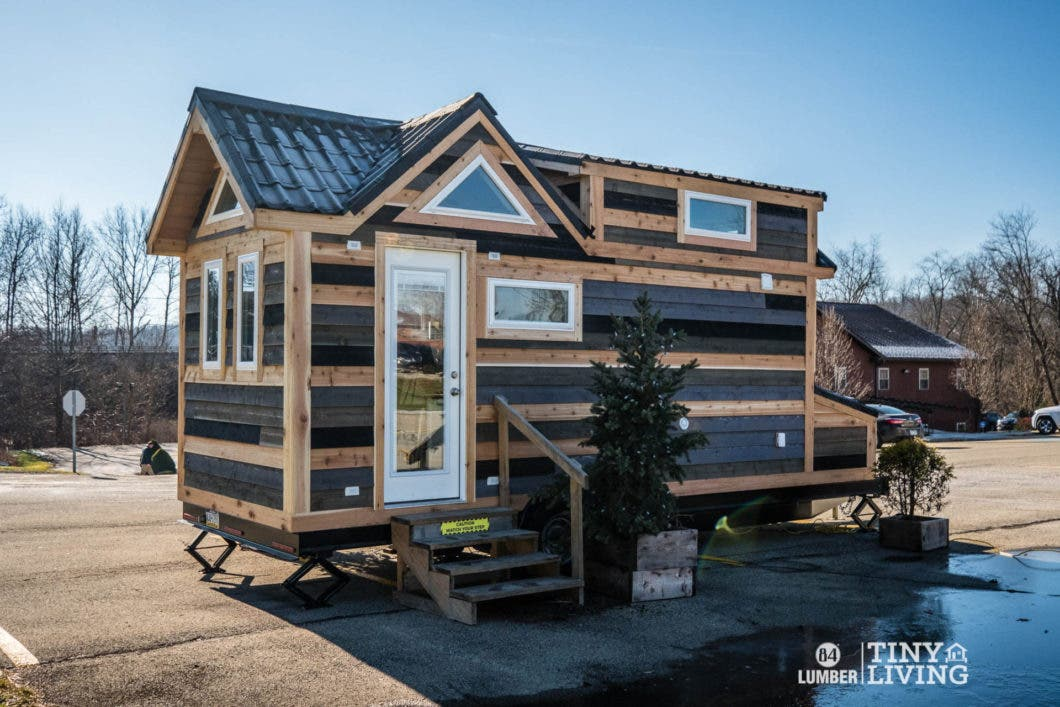 84 Lumber Tiny Living Display Model Sale Tiny House Blog