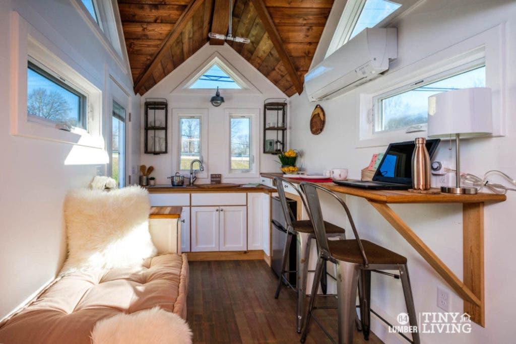 84 lumber tiny living display model sale tiny house blog. Black Bedroom Furniture Sets. Home Design Ideas
