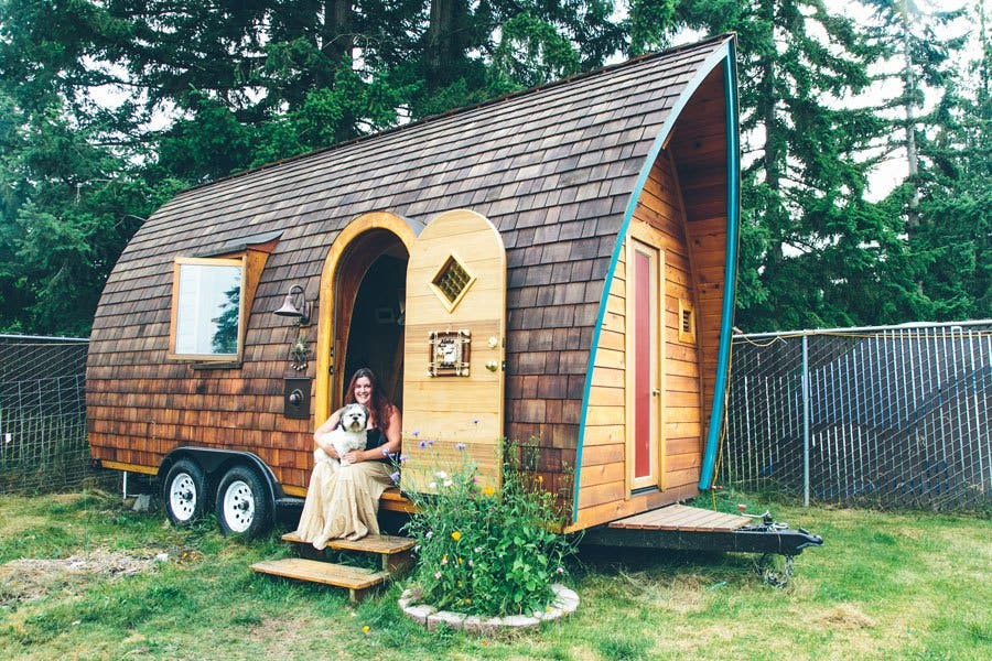 Tiny Home Designs: The Fortune Cookie